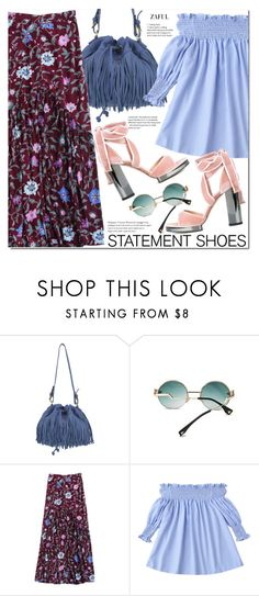 """Double Take: Statement Shoes"" by duma-duma ❤ liked on Polyvore featuring L'Autre Chose, Valentino and statementshoes"