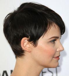 Side Side View of Pixie Cut - Ginnifer Goodwin Short Haircut - Pretty Designs