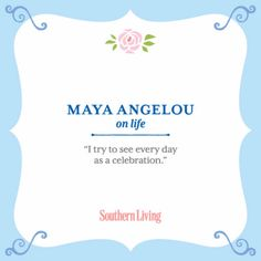 We remember author and poet Maya Angelou, who passed away today at her home in Winston-Salem, North Carolina. As we reflect on her legacy, we share pieces of unforgettable wisdom she shared with us.
