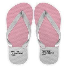 Chinelo 1-800 Hotline Pantone  de Karen Rulezna #colab55. Tags: pink, colors, cores, pantone, drake, hotlinebling