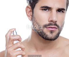 """""""handsome young man performing morning routine"""" Fotos de archivo e imágenes libres de derechos en Fotolia.com - Imagen 97875408"""