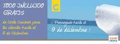 Una gran compañia con Todo Incluido. www.viajesmavelia.es Viajes Maeva, C/ La Plata, 31. Los Barrios. telefono: 956 622633