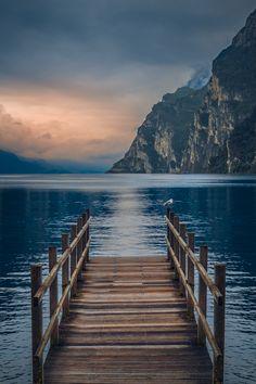 """ Peace and quiet Lake Garda, Italy "" Beautiful Nature Pictures, Beautiful Nature Wallpaper, Beautiful Landscapes, Beautiful Places, Landscape Photography, Nature Photography, Travel Photography, Photography Tips, Lake Garda"