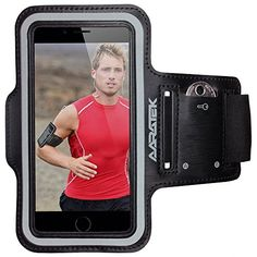 AARATEK Pro Sport Armband for iPhone 6, Galaxy S5|S4 (Black) - Rated #1 - Best for workouts, running, cycling, or any fitness activity outside or in the gym - Listen to your favorite motivating music while your phone is held securely on your arm! - Deluxe http://www.amazon.com/AARATEK-Sport-Armband-iPhone-Galaxy/dp/B00P6DNSU0