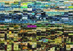 Studio Artist - Factory Settings - Mosaic Movie Brush - Graffiti14 City Photo, Mosaic, Studio, Artist, Mosaics, Artists, Studios, Mosaic Art
