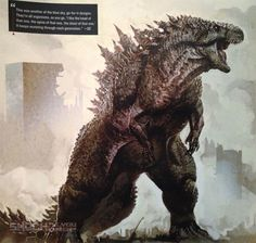 12 Gorgeous Early Concept Designs For Godzilla