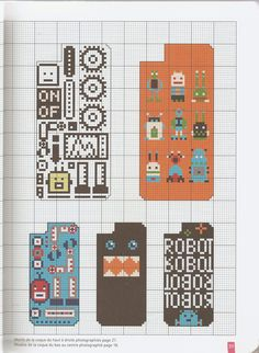 Phone Cross-Stitch Case Pattern