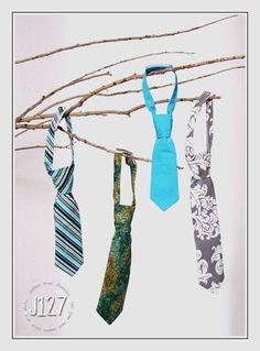 Baby and Toddler Neck Ties for Boys by JHAMKids on Etsy, $15.00