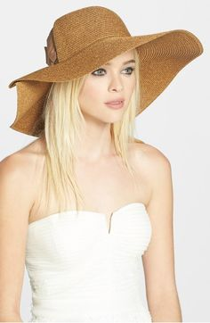 e403cc2c6bb Jessica Simpson Side Bow Floppy Hat