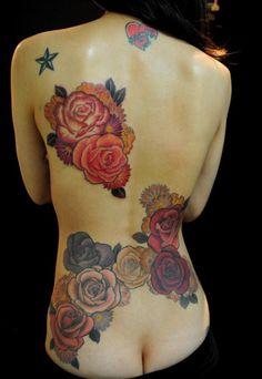 55 Best Rose Tattoos Designs - Pretty Designs