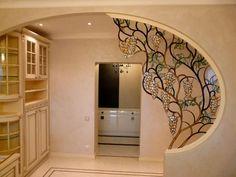 Home Interior Black .Home Interior Black House Design, Partition Design, Interior, Ceiling Design, Home Interior Design, House Interior Decor, Wall Design, Iron Decor, Interior Deco