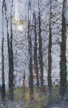"'TITLE'   Kurt Jackson: from the ""Tree Gwedhen"" exhibition. ✫ღ⊰n"