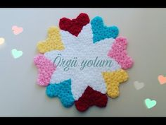 Crochet Doilies, Crochet Hats, Picsart Tutorial, Mini Photo, Baby Knitting Patterns, My Design, Make It Yourself, Heart, Youtube