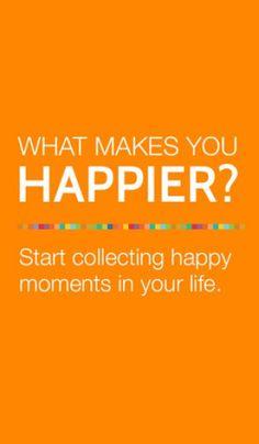 Lär dig att se det positiva och minnas det som är bra för att fokusera på goda ting och bli gladare http://blish.se/4b64fa7d52 #appar #positivitet #glädje #självkänsla #fokus #happier