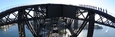Sydney Harbour Bridge Climb: a thrilling excursion to the top of the bridge's steel arch, providing you an amazing 360 degree view of beautiful Sydney. Harbor Bridge, Sydney Harbour Bridge, Sydney Activities, Visit New Zealand, Amazing Race, South Pacific, Great View, Climbing, Places To Go