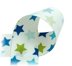 Hey, I found this really awesome Etsy listing at http://www.etsy.com/listing/151185881/star-ribbon-1-12-grosgrain-ribbon-super