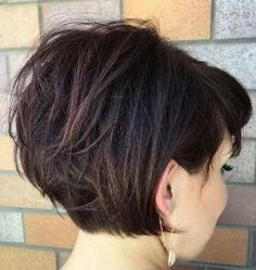 Short Haircut for Thick Hair by lynn