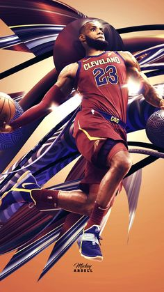Lebron wallpaper NBA Art. #wmcskills