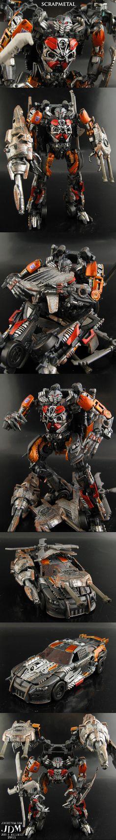 Custom Transformers Scrapmetal by Jin-Saotome.deviantart.com on @deviantART