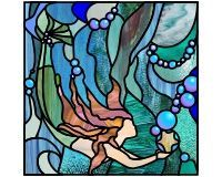 underwater stained glass patterns - Google Search