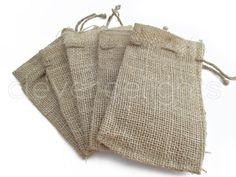 100 4 x 6 bolsas pequeña arpillera bolsas de por CleverDelights