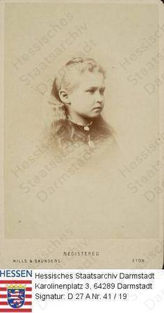 Toddler Princess Alix of Hesse