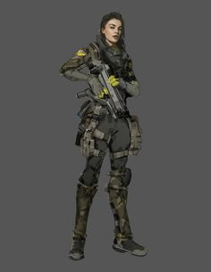 Reference for female military clothing - this but mixed with Medieval - a bit more mad max, leather shoulder plaed and knee pads, but this style and shape
