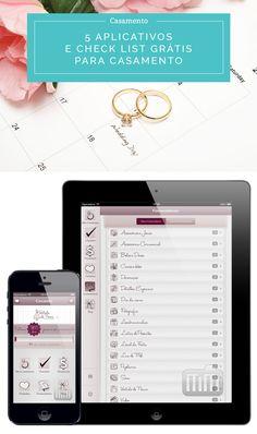 Check list grátis para baixar e organizar o seu casamento completo + 5 aplicativos de celular que irão te ajudar a planejar tudo! Clique na imagem para acessar.
