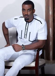 Shop African clothing from our store at the best price. Check out our latest collection of African clothing now! African Wear Styles For Men, African Shirts For Men, African Dresses Men, African Attire For Men, African Clothing For Men, African Women, Nigerian Men Fashion, African Print Fashion, Africa Fashion