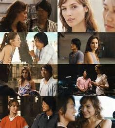 Fast Five (2011) Giselle and Han use their tools to help Dominic and the crew pull off a police vault break of Reyes money. As they work together, their relationship turns into romance.