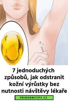 7 jednoduchých způsobů, jak odstranit kožní výrůstky bez nutnosti návštěvy lékaře Tea Tree Oil, Diabetes, Mirrored Sunglasses, Detox, Herbs, Health, Tips, Salud, Health Care