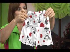 Vestidos para niñas. Miladis López. 3/5 - YouTube