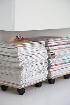 Diy Crafts Ideas : diy magazine/book idea