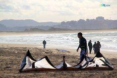 KITE en la playa de Somo