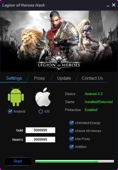 Legion of Heroes Hack Tool For Unlimited coins and gold No Survey. World at War hack tool game has been own followers