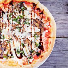 Five One-of-a-kind Pizzas