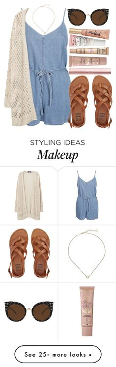 """Cute cardigans"" by anna198913 on Polyvore featuring Kendra Scott, Violeta by Mango, Quay, Billabong, cutecardigan and springlayers"
