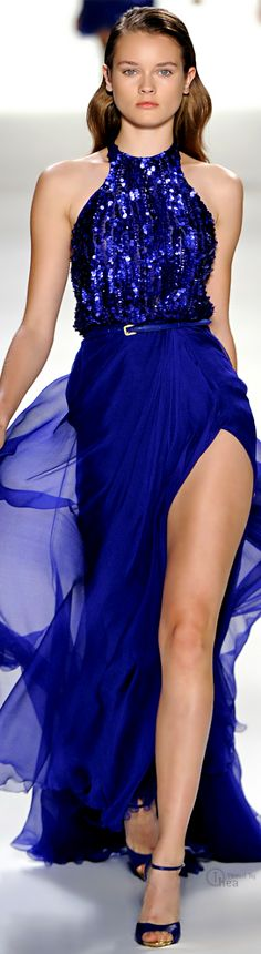 BLUE: Elie Saab _____________________________ Reposted by Dr. Veronica Lee, DNP (Depew/Buffalo, NY, US)