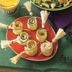ham and jack roll ups halloween party appetizershalloween foodshalloween food
