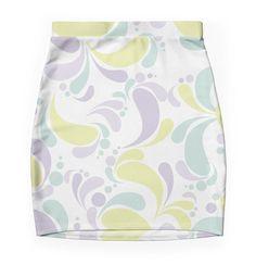 Boho Girl - Women's Bodycon mini skirt. Feel Good Fashion & Living® by Marijke Verkerk Design   www.marijkeverkerkdesign.nl