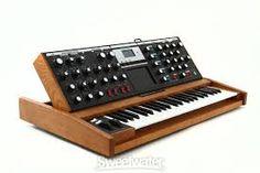 Resultado de imagem para a moog and mini-moog synthesizer.