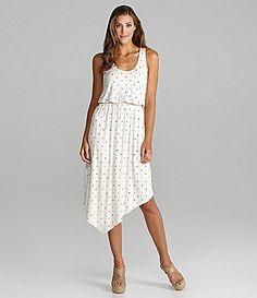 Kensie Polka-Dot Dress | Dillards.com