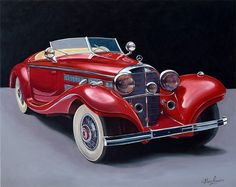 Mercedes Benz Spezial Roadster 1935 Classic and antique cars. Sometimes custom cars but mostly classic/vintage stock vehicles. Mercedes Benz, Mercedes Cabrio, Retro Cars, Vintage Cars, Antique Cars, Bugatti, Carros Retro, Daimler Benz, Roadster
