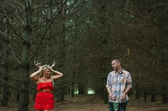 Bridget and Alrick Southern Michigan Engagement Session