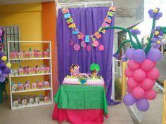 Cumpleaños Dora. Mi confeccion