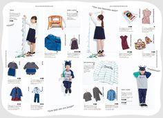 オンリー•エムアイセレクション for baby & kids 2014 autumn & winter collection | ISETAN BOOK APARTMENTS