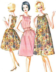 1960s Dress Pattern McCalls 6172  My Mom made several dresses like this.