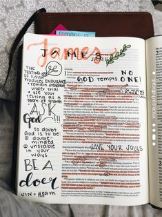 See more of hdbrad's content on VSCO. Bible Study Notebook, Bible Study Journal, Bible Verses Quotes, Bible Scriptures, Bible Art, Journaling, Cute Bibles, Bibel Journal, Bible Doodling