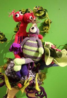 Welcome Alien Aattraction Alf & Evie  by Doris Madden