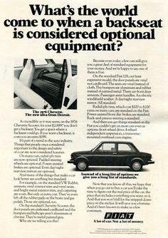https://flic.kr/p/SoccBL | 1976 Fiat Advertising Road & Track April 1976 | 1976 Fiat Advertising Road & Track April 1976